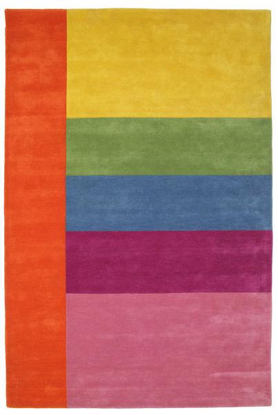Colors By Meja Handtufted Tapis 200X300 Moderne Rose/Jaune (Laine, Inde)