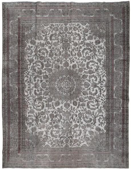 Colored Vintage Tapis 291X380 Moderne Fait Main Gris Foncé/Gris Clair Grand (Laine, Perse/Iran)