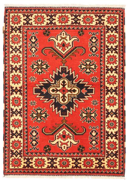 Kazak Tapis 105X149 D'orient Fait Main Rouge/Marron Foncé (Laine, Pakistan)