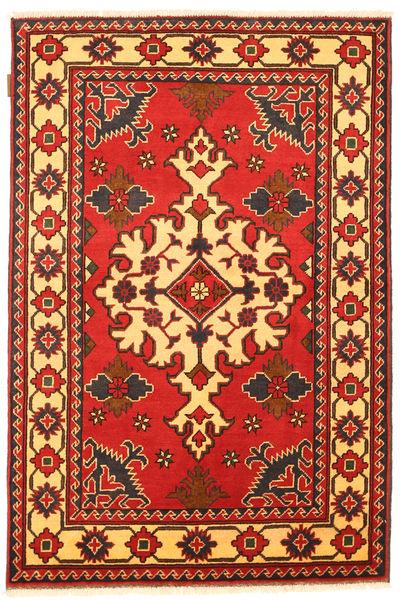 Kazak Tapis 102X157 D'orient Fait Main Rouille/Rouge/Marron Foncé (Laine, Pakistan)