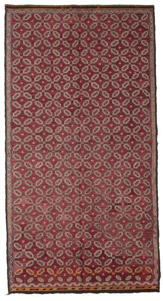 Kilim Semi-Antique Turquie Tapis 178X335 D'orient Tissé À La Main Rouge Foncé/Rose (Laine, Turquie)