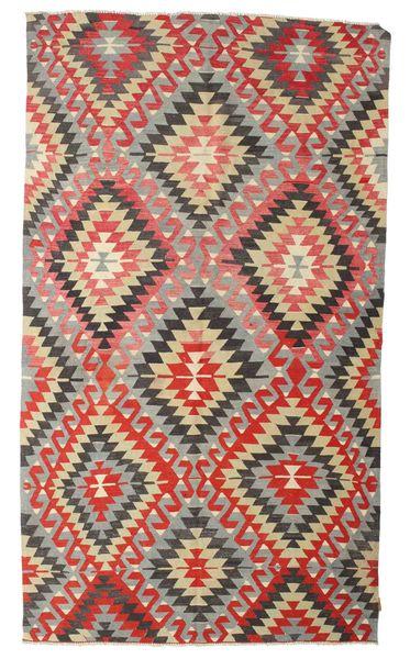 Kilim Semi-Antique Turquie Tapis 170X298 D'orient Tissé À La Main Gris Clair/Rouille/Rouge (Laine, Turquie)