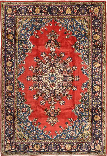 Wiss Tapis 230X335 D'orient Fait Main Rouge Foncé/Gris Foncé (Laine, Perse/Iran)