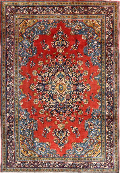 Wiss Tapis 205X312 D'orient Fait Main Rouge Foncé/Rouille/Rouge (Laine, Perse/Iran)