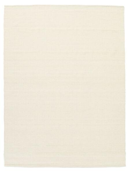 Kilim Loom - Blanc Écru Tapis 160X230 Moderne Tissé À La Main Beige/Blanc/Crème (Laine, Inde)
