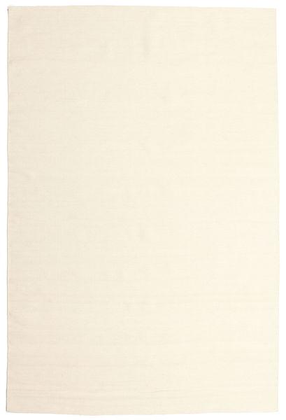 Kilim Loom - Blanc Écru Tapis 200X300 Moderne Tissé À La Main Beige/Blanc/Crème (Laine, Inde)