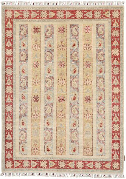 Ziegler Tapis 149X205 D'orient Fait Main Beige/Gris Clair (Laine, Pakistan)