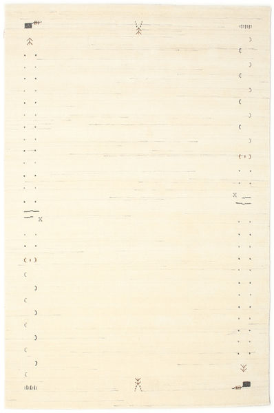 Gabbeh Loom Frame - Blanc Écru Tapis 190X290 Moderne Beige/Blanc/Crème (Laine, Inde)