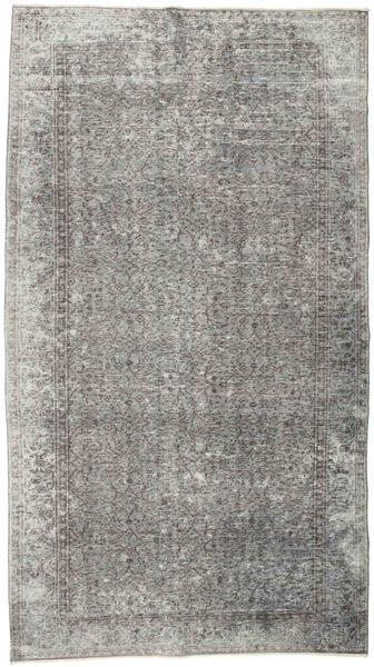Colored Vintage Tapis 152X274 Moderne Fait Main Gris Clair/Gris Foncé (Laine, Turquie)