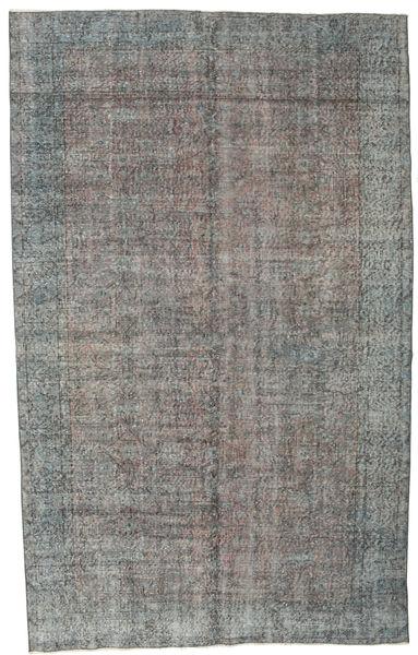 Colored Vintage Tapis 177X290 Moderne Fait Main Gris Foncé/Gris Clair (Laine, Turquie)