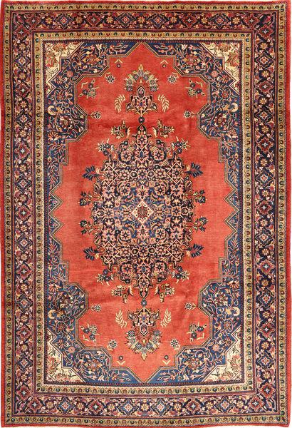 Wiss Tapis 217X330 D'orient Fait Main Rouge Foncé/Rouille/Rouge (Laine, Perse/Iran)