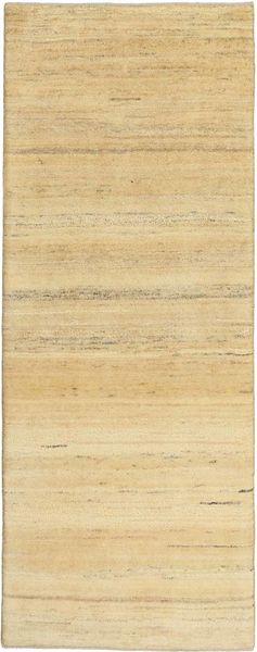 Gabbeh Persan Tapis 78X202 Moderne Fait Main Tapis Couloir Beige/Beige Foncé/Marron Clair (Laine, Perse/Iran)