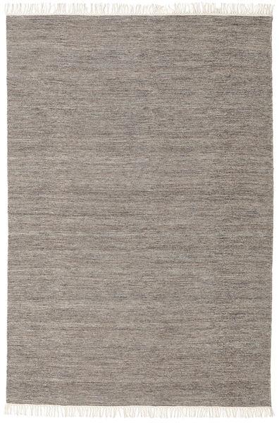 Melange - Marron Tapis 160X230 Moderne Tissé À La Main Gris Clair/Beige (Laine, Inde)
