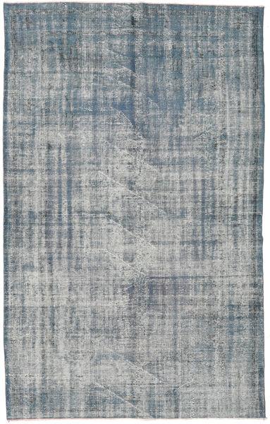 Colored Vintage Tapis 181X294 Moderne Fait Main Gris Clair/Bleu (Laine, Turquie)