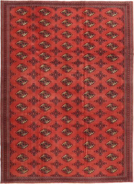 Turkaman Patina Tapis 240X337 D'orient Fait Main Rouge Foncé/Rouille/Rouge (Laine, Perse/Iran)