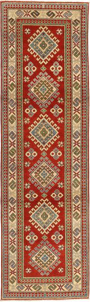 Kazak Tapis 81X292 D'orient Fait Main Tapis Couloir Rouge Foncé/Marron Clair (Laine, Pakistan)