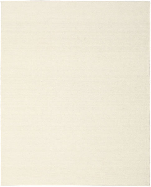 Kilim Loom - Blanc Écru Tapis 250X300 Moderne Tissé À La Main Beige Grand (Laine, Inde)