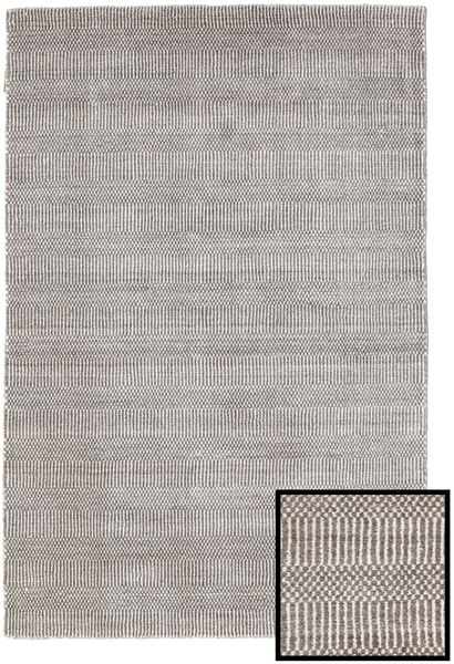 Bambou Grass - Beige Tapis 120X180 Moderne Gris Clair (Laine/Soie De Bambou, Turquie)