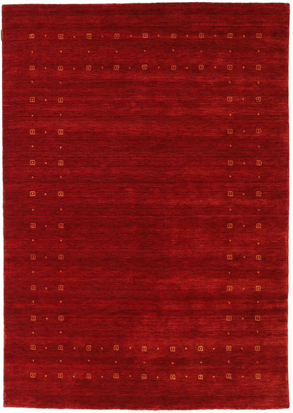 Loribaf Loom Delta - Rouge Tapis 160X230 Moderne Rouge Foncé/Rouille/Rouge (Laine, Inde)