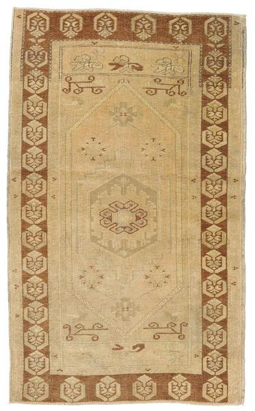Taspinar Tapis 108X180 D'orient Fait Main Beige Foncé/Marron Clair (Laine, Turquie)