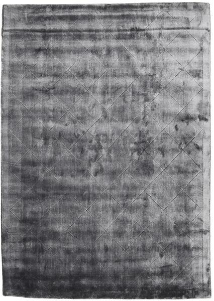 Brooklyn - Stormy Grey Tapis 160X230 Moderne Gris Foncé/Gris Clair ( Inde)