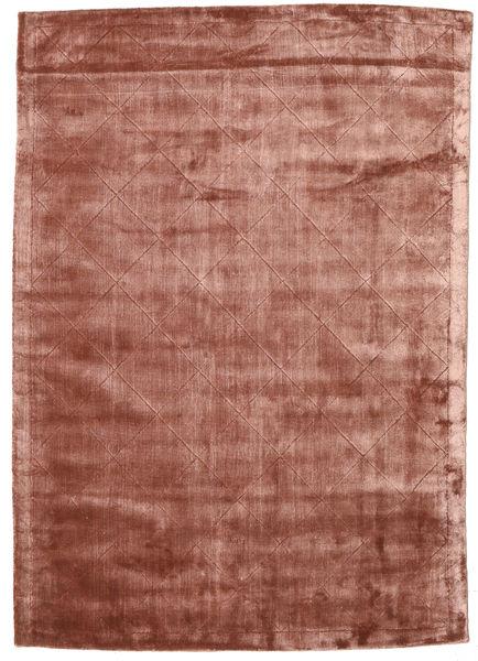 Brooklyn - Pale Copper Tapis 140X200 Moderne Rouge Foncé/Marron Clair ( Inde)