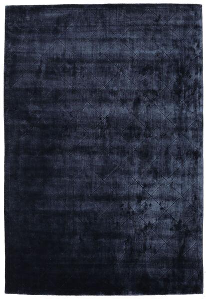 Brooklyn - Bleu Nuit Tapis 250X350 Moderne Bleu Foncé Grand ( Inde)
