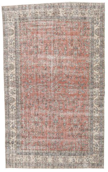 Taspinar Tapis 200X336 D'orient Fait Main Gris Clair/Rose Clair (Laine, Turquie)
