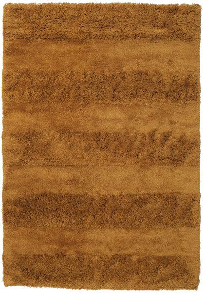 New York - Jaune Moutarde Tapis 170X240 Moderne Marron/Marron Clair (Laine, Inde)