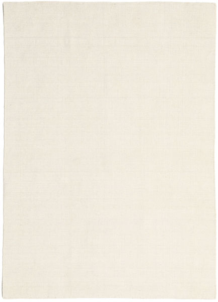 Kilim Loom - Natural Tapis 160X230 Moderne Tissé À La Main Beige Foncé/Beige (Laine, Inde)