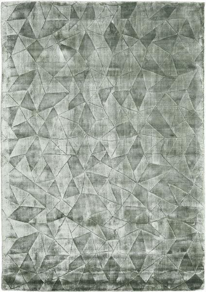 Crystal - Frosty Green Tapis 140X200 Moderne Vert Clair/Vert Foncé ( Inde)