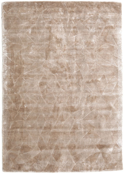 Crystal - Soft_Beige Tapis 140X200 Moderne Gris Clair/Blanc/Crème ( Inde)