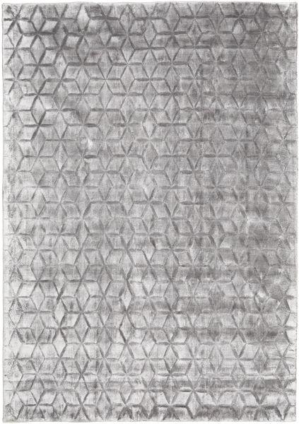 Diamond - Gris Tendre Tapis 160X230 Moderne Gris Clair ( Inde)