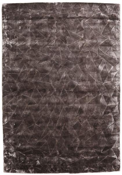 Crystal - Chocolate Tapis 160X230 Moderne Marron Foncé/Gris Foncé ( Inde)