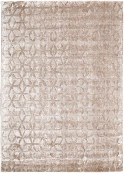 Diamond - Soft_Beige Tapis 140X200 Moderne Gris Clair/Blanc/Crème ( Inde)
