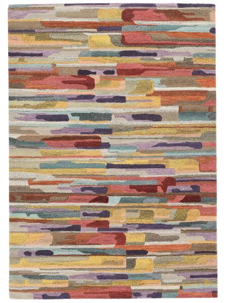 Sense Tapis 160X230 Moderne Gris Clair/Gris Foncé (Laine, Inde)