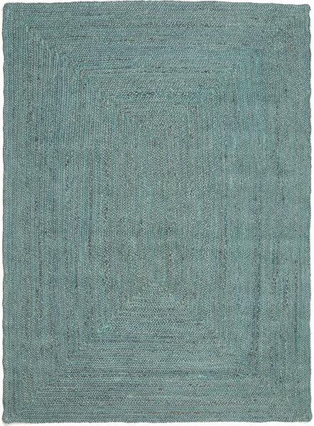 Tapis D'extérieur Frida Color - Turquoise Tapis 160X230 Moderne Tissé À La Main Bleu Turquoise/Bleu Turquoise (Tapis De Jute Inde)