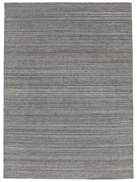 Petra - Dark_Mix Tapis 140X200 Moderne Tissé À La Main Gris Foncé/Bleu Clair ( Inde)
