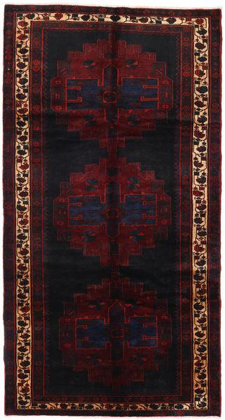 Saveh Tapis 152X288 D'orient Fait Main Tapis Couloir Rouge Foncé (Laine, Perse/Iran)