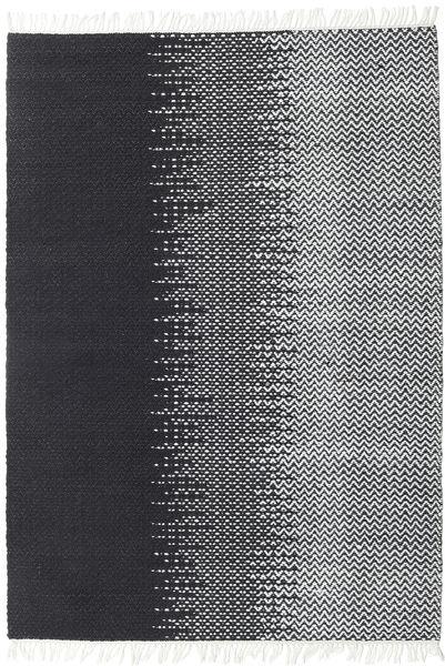Sixten Tapis 170X240 Moderne Tissé À La Main Gris Foncé/Blanc/Crème ( Inde)