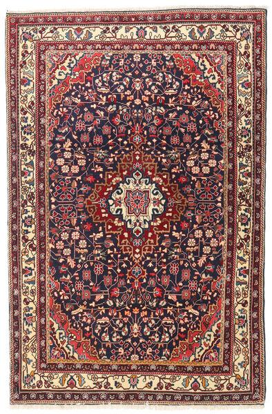 Jozan Tapis 107X167 D'orient Fait Main Beige/Violet Foncé (Laine, Perse/Iran)