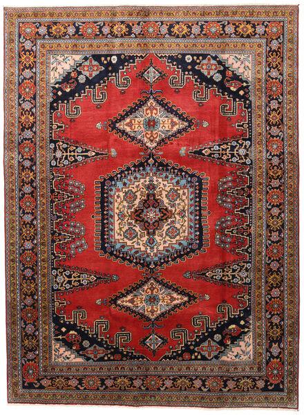 Wiss Tapis 212X288 D'orient Fait Main Marron Foncé/Rouille/Rouge (Laine, Perse/Iran)