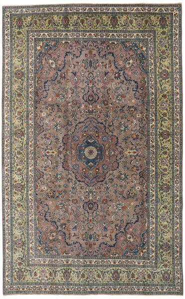 Kashmar Patina Tapis 195X310 D'orient Fait Main Gris Foncé/Marron Clair (Laine, Perse/Iran)