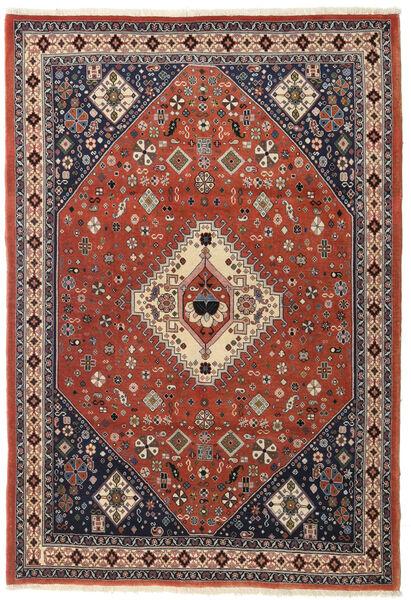 Ghashghaï Tapis 116X168 D'orient Fait Main Rouge Foncé/Marron Foncé (Laine, Perse/Iran)