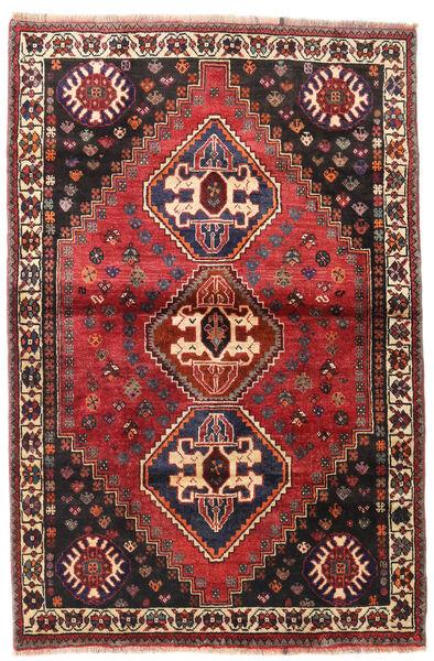Ghashghaï Tapis 109X169 D'orient Fait Main Rouge Foncé/Noir (Laine, Perse/Iran)
