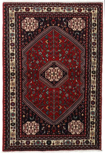 Abadeh Tapis 105X155 D'orient Fait Main Marron Foncé/Rouge Foncé (Laine, Perse/Iran)