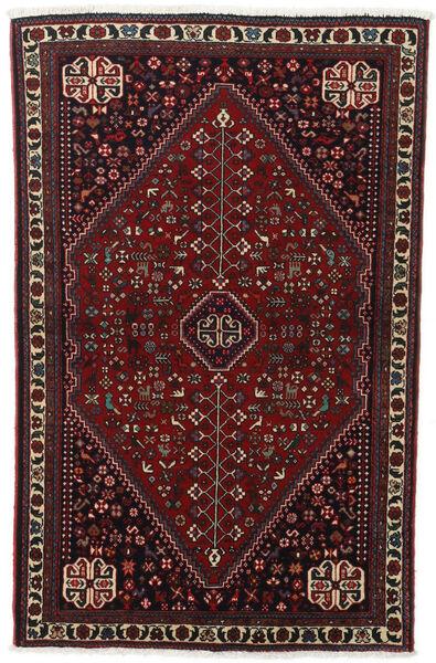 Abadeh Tapis 100X156 D'orient Fait Main Marron Foncé/Rouge Foncé (Laine, Perse/Iran)
