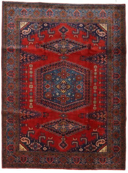 Wiss Tapis 228X307 D'orient Fait Main Rouge Foncé/Noir (Laine, Perse/Iran)