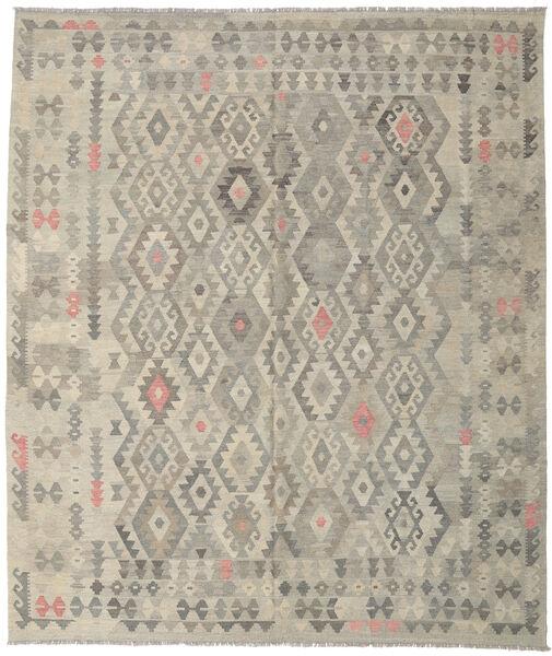 Kilim Afghan Old Style Tapis 252X297 D'orient Tissé À La Main Gris Clair Grand (Laine, Afghanistan)