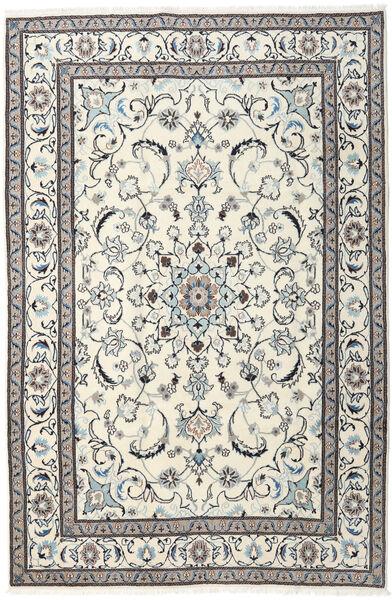 Naïn Tapis 195X293 D'orient Fait Main Beige/Gris Clair (Laine, Perse/Iran)